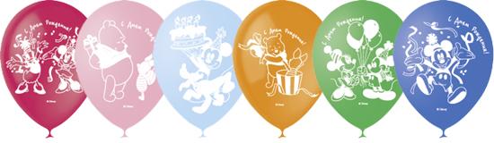воздушные шары. герои диснея. дисней