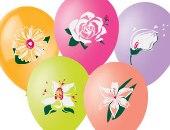 """Цветная печать на шарах """"Цветы"""""""